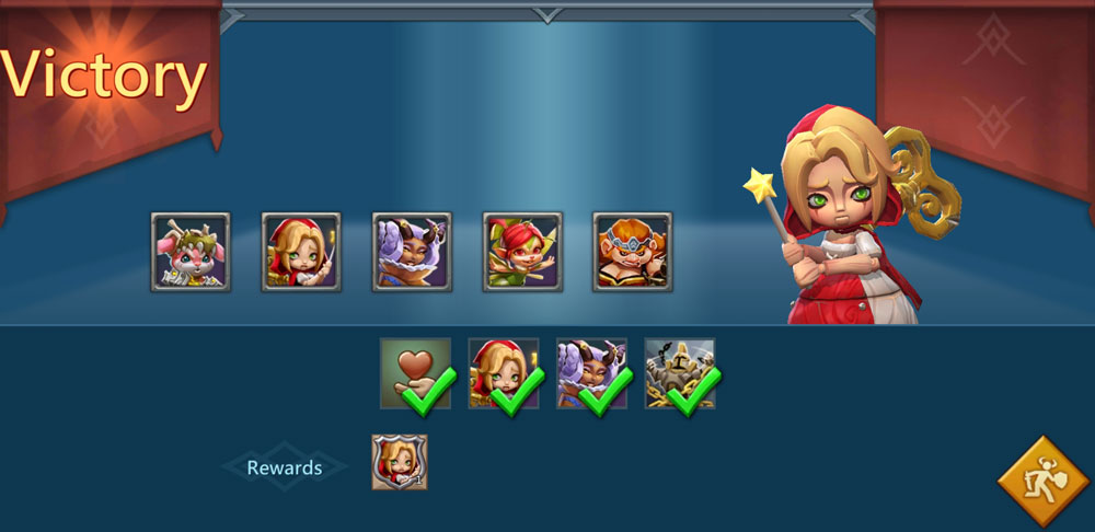 Witch Doll Limited Challenge Stage 1-3