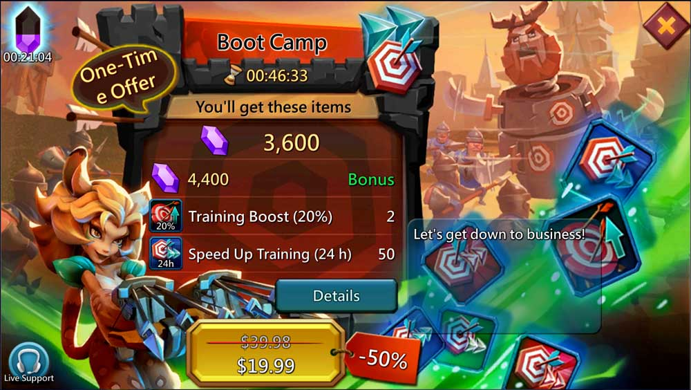 Boot Camp Training Boost