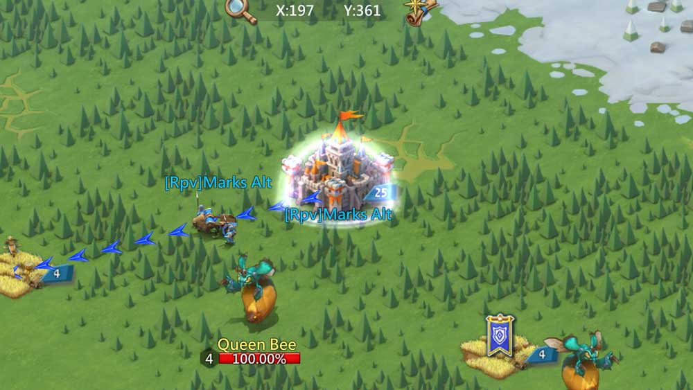 Playing Lords Mobile