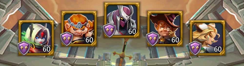 Cottageroar Hero Lineup Monster Hunting