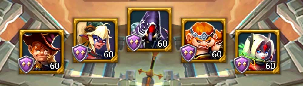 Frostwing F2P Hero Lineup