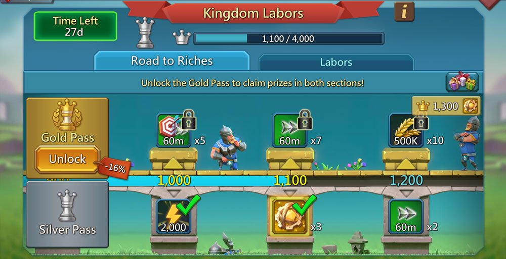 Kingdom Labors Prizes