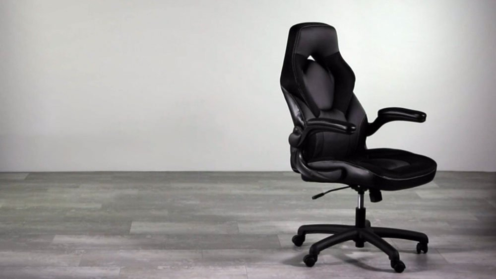 OFM ESS Leather Gaming Chair