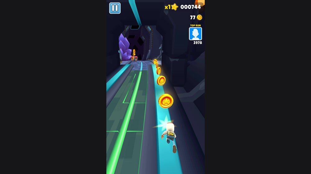 Outer Space Theme in Subway Surfer