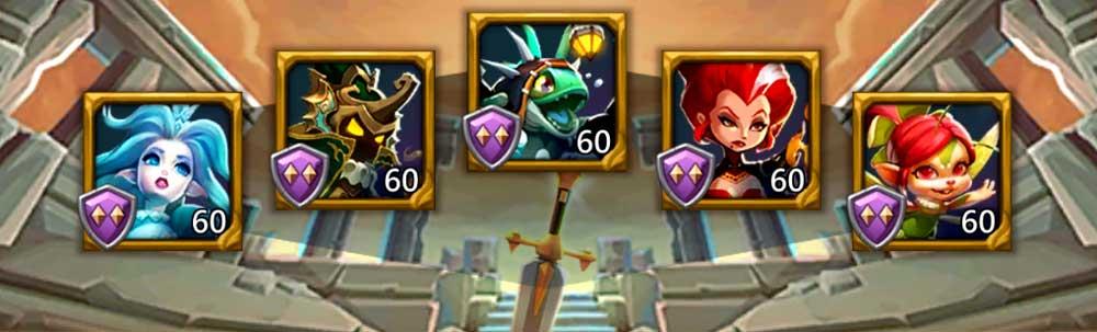 Jade Wyrm Hero Lineup Level 1 2 3 4